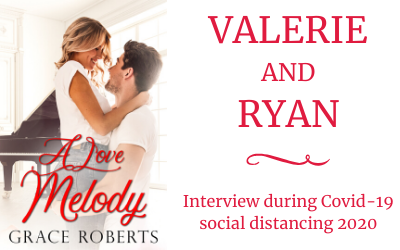 Social distancing 2020: Interview with Valerie and Ryan