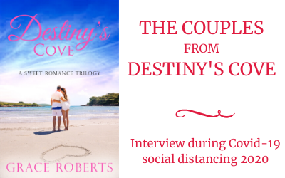 Social distancing 2020: Interview with the couples from Destiny's Cove